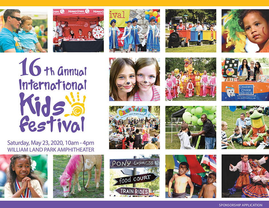 Kids Festival Sponsorship Application